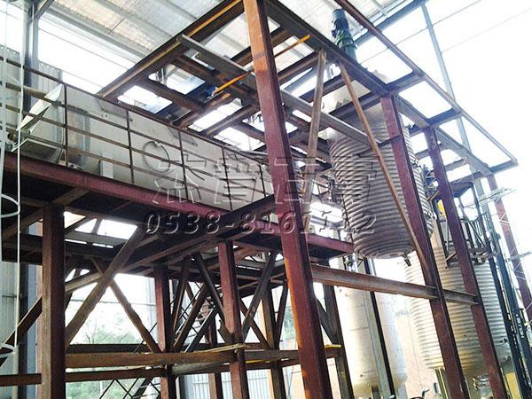 高强石膏粉生产工艺及装备