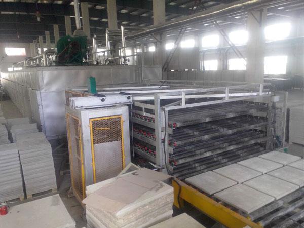 石膏基地板——烘干系统