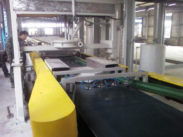 石膏装配式墙板生产线